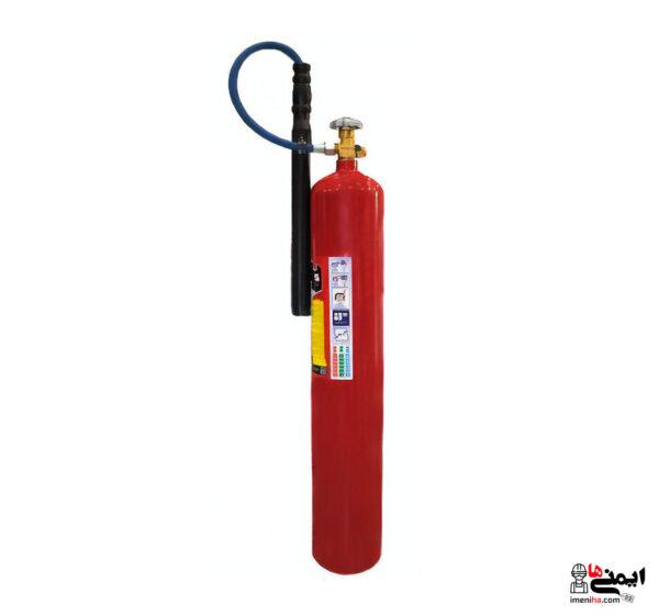 كپسول آتش نشاني co2 - كپسول دژ