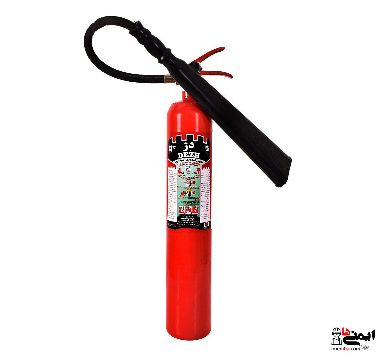 کپسول آتش نشانی دی اکسیدکربن