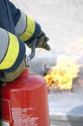 كپسول آتش نشاني - تجهيزات ايمني