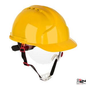 کلاه ایمنی با عینک - کلاه کار در ارتفاع