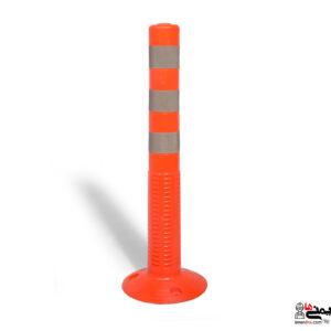استوانه ترافیکی - استوانه ایمنی - شبرنگ پارچه ای