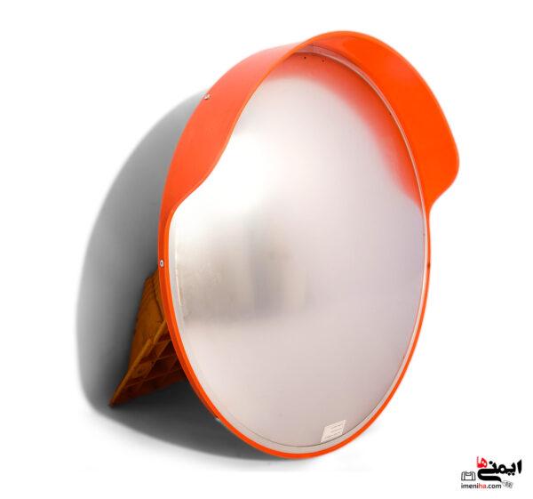 آینه ترافیکی پلی کرینات - آینه فریم دار