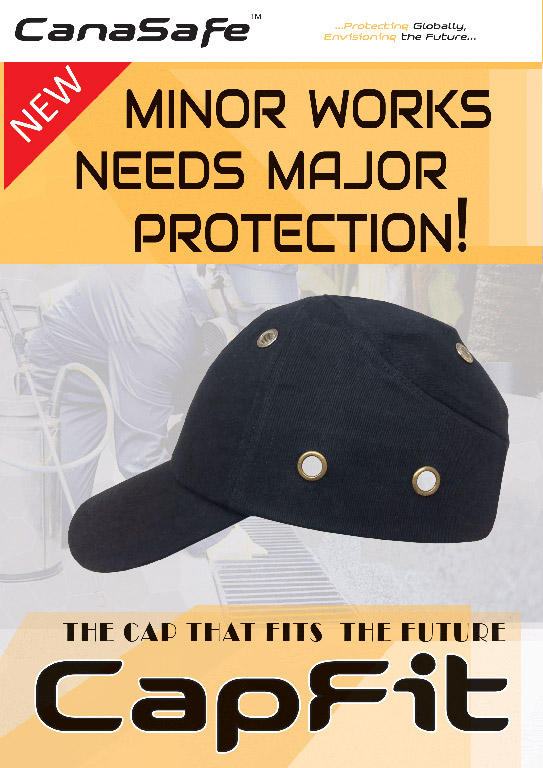 Canasafe Capfit - کلاه مهندسی - کلاه ایمنی