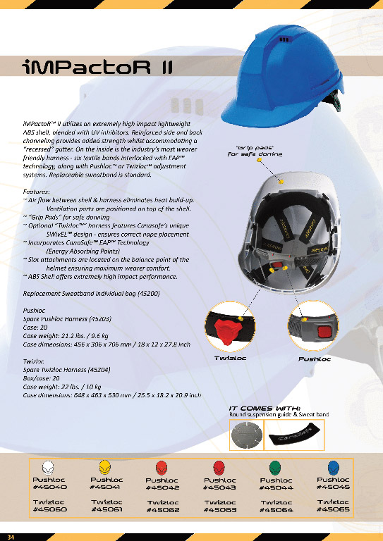 کلاه ایمنی کاناسیف - ایمپکتور 2 - Canasafe