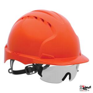 عینک مخصوص کلاه ایمنی