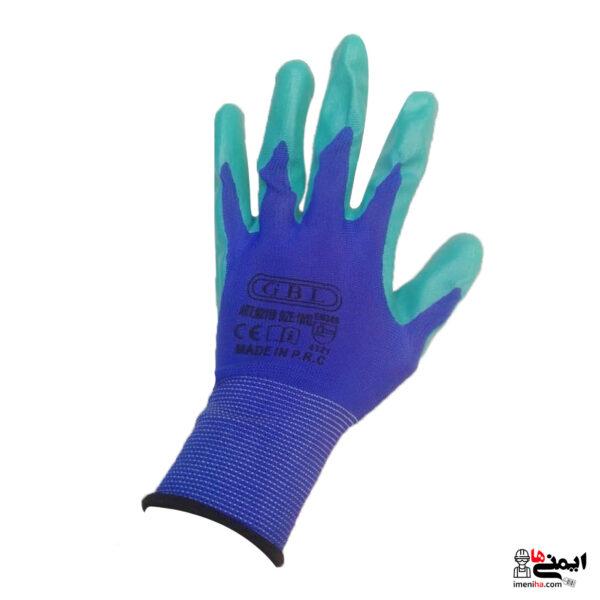 دستکش ایمنی کف مواد