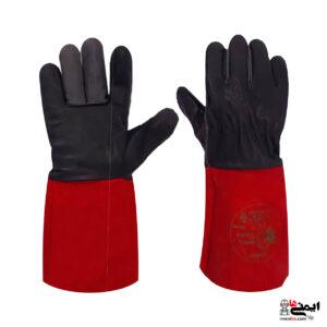 دستکش جوشکاری - دستکش عایق جوش