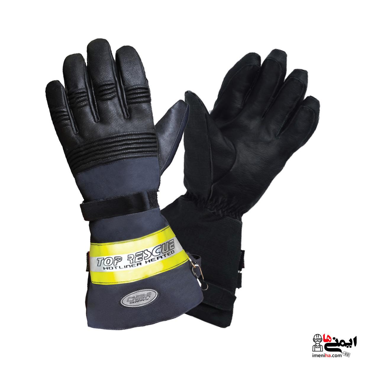 gloves chiba - دستکش آتش نشانی