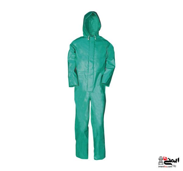 لباس کار ضد اسید - لباس شیمیایی