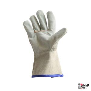 دستکش جوشکاری چرم - دستکش نسوز چرم