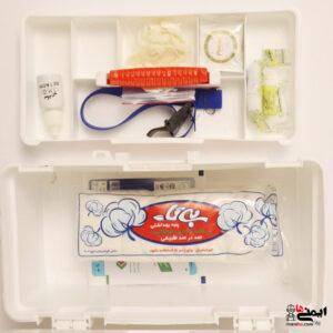 اقلام جعبه کمک اولیه ابزاری