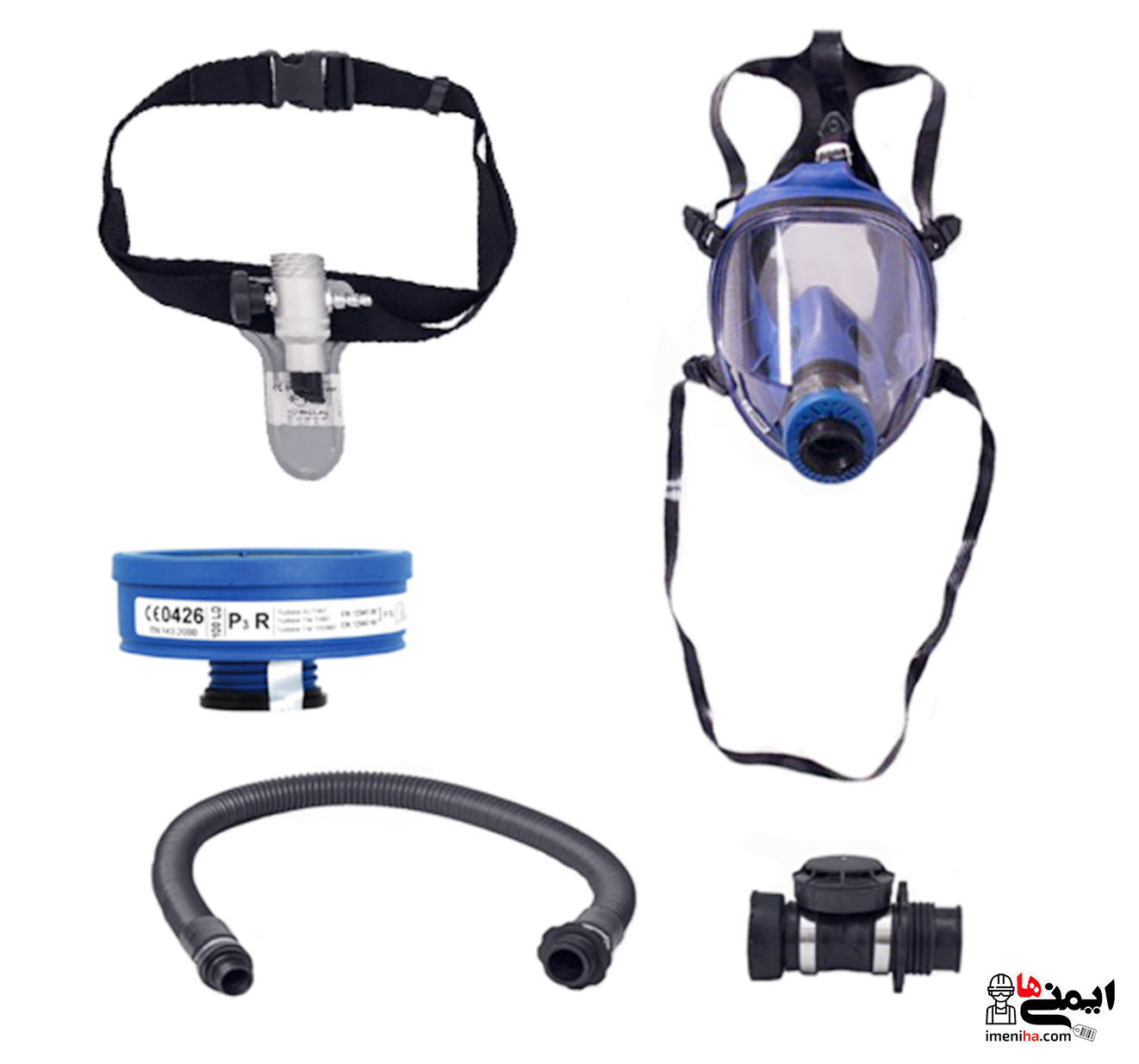 متعلقات سیستم تنفسی هوارسان دائم Spasciani Ac190